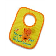 Toddler Bib and Cloth, promise